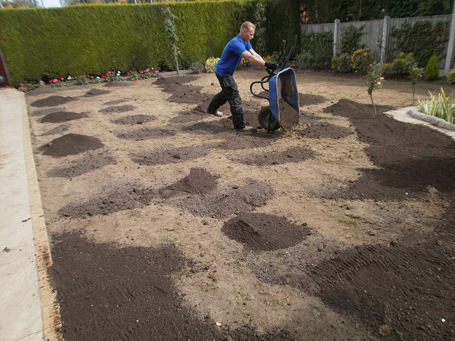 Add topsoil